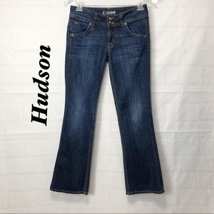 Hudson Dark Wash Bootcut straight 27